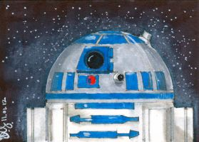 R2D2 by Pencilbags