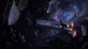 Imperial cruiser by JimHatama