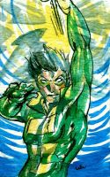 Sketch card: Weather Wizard by Waterwindow