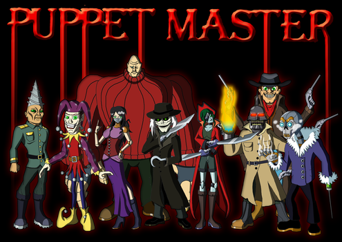 Puppet Master - Poster - Moheart7's version by Moheart7