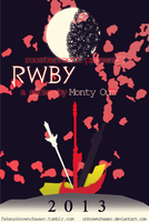 RWBY Poster Design by UnknownChaser