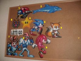 Perler Beads, Part 1 by EternalBarrel
