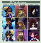 Oc Switch Meme by ChibiCorporation