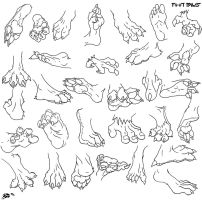 Foot Collection by Foot-paws