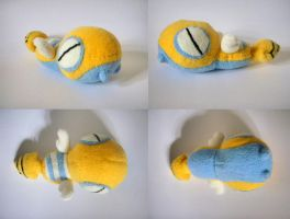 Dunsparce Mock Pokedoll by Pannsie