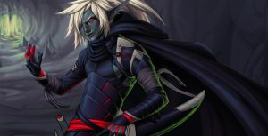 drow wip by irahi
