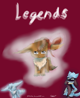 Legends - comic cover by pokebulba