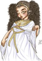 African Egyptian Princess by GlamourGal