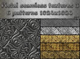 Metal seamless textures pack 3 by jojo-ojoj