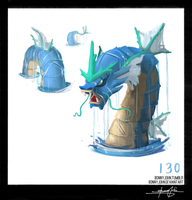 Gyarados!  Pokemon One a Day! by BonnyJohn