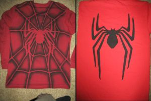Wrestling Spiderman shirt by Arkanthor