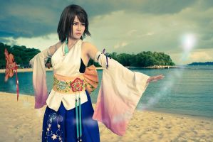 Yuna-- I must fight. by Aquarina12