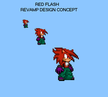 ::OLD SPRITE/BDAY GIFT:: Red Flash Revamp by TuffTony