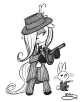 livestream request 3/9/2012- gangstershy ver 2 by bunnimation