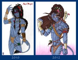Ada'Rhan 2010 - 2012 by KiraSaintclair