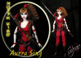Aurra Sing Bounty Hunter Custom Doll JVCustoms by jvcustoms