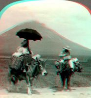 Cattle Mayon-anaglyph by stinglacson