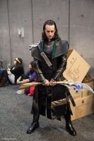 Loki Cosplay SDCC 2013 by CRETE