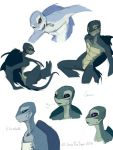 Sketchdump: Mutant Sea Turtles 2 by JazzTheTiger