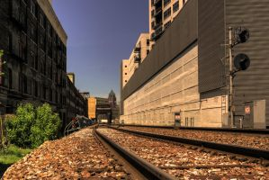 Crossover Point Rail by rimete