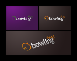Bowling logotype by deoxgfx