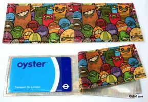 Oyster Wallet by creaturekebab