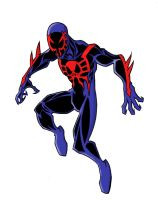Spider-man 2099 by sketchmasterskillz