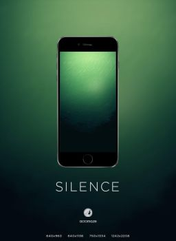 SILENCE wallpaper by acromaze
