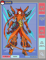 Charizard Gijinka by bulletproofturtleman