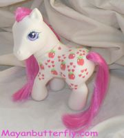G3 Mommy Apple Delight Pony by mayanbutterfly