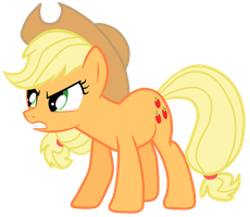 Mad Applejack by JennieOo