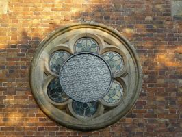 Round Window by GRANNYSATTICSTOCK