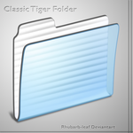 Tiger folder icns, png and psd by rhubarb-leaf