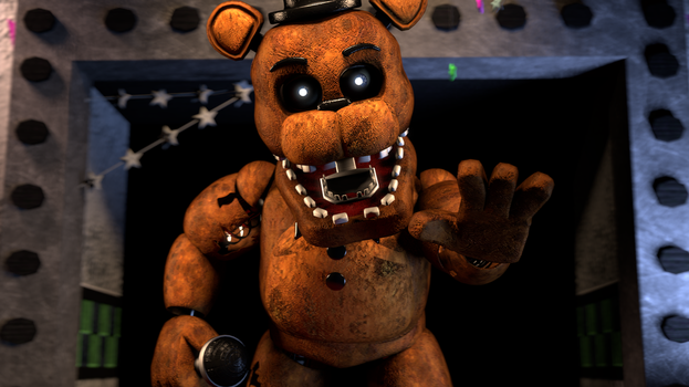 Withered Freddy by Tim-Zillaboy