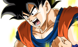 Goku Transformation by SaoDVD