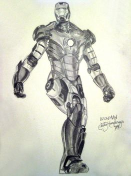 Iron Man Sketch by Mystications