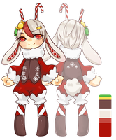 Custom Adopts Secret Santa by kiimcakes