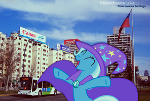 Trixie invading Santiago by Maxiblash