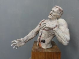 Frankenstein's Monster Painted 1 by Mutronics
