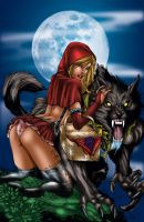 Red Riding Hood revamped by MarcBourcier