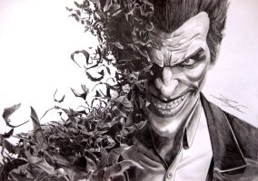 The Joker by bio-girl91
