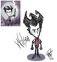 Don't Starve- Wilson by EllieYo