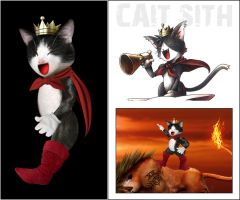 Cait Sith by ScorpionDeathlock