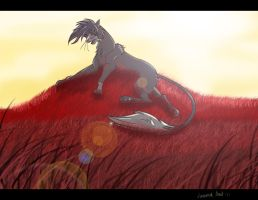 The Red Field by SaellekStar