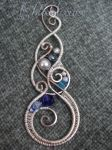 Swirly Pendant by ChloeLB
