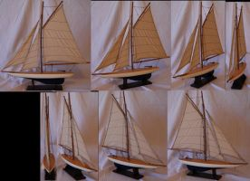 Sailboat Model Pack by TwilightAmazonStock