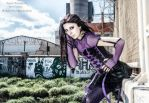 Purple gothic II by Georgya10
