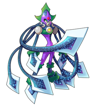 Commission: Squid Man by ultimatemaverickx