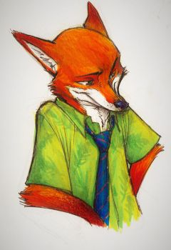 Sly Fox #4 by MonoFlax