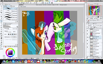 Lindsey Stirling MLP in Manga Studio by VvStardustvV